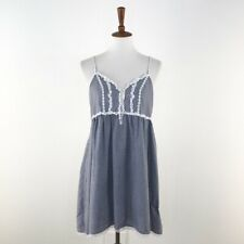 Women's Blue Victoria's Secret Country Quality Cottons Dress sz S