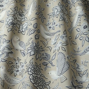 Heritage Sandstone - By iliv - 100% Cotton Floral, Birds Fabric - 3 Metre Piece