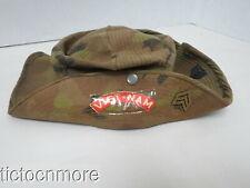 New listing Vietnam War Us Marine Special Forces Advisor Boonie Bush Hat Named- Cowboy Arvn