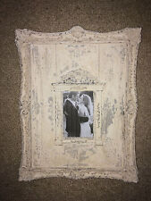 Rustic White Hanging Photo Frame 4x6
