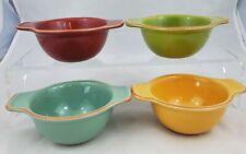 New listing Dips Dish 4 Bobby Flay Sauce Fruit Bowl 6 oz  Dessert Individual Terra Cotta