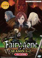Anime [English Dubbed] Fairy Gone (Season 1+2) Vol.1-24  DVD