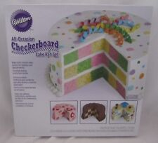 Wilton Industries Checkerboard Cake Pan NEW