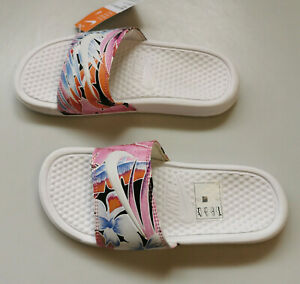 Nike Sandalen Badeschuhe Badelatschen Benassi JDI Print Damen Gr. 36,5