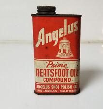 Angelus Neatsfoot oil compound Shoe Polish LA California