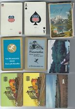 Union Pacific Playing Card Deck + 6 Railroad Singles Swap Cards