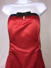 NWT Red FIESTA Evening Gown Strapless Dress Size 2XL