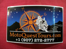 Moto Quest Tours Com Sticker Decal ATV Motorcycle Racing