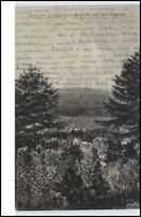 1911 Stempel Stützerbach auf AK Ilmenau Thüringen Blick von der Schönen Aussicht
