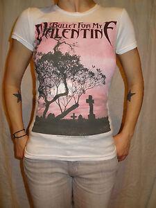 Bullet For My Valentine Dusk Graveyard T-shirt Juniors XS