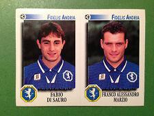 CALCIATORI 1997-98 97-1998 n 459 FIDELIS ANDRIA DI SAURO MARZIO Figurina Panini
