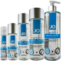 System JO H2O Water based lubricant Personal Intimate lube Long lasting glide