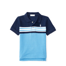Ralph Lauren Baby Boys' Striped Cotton Mesh Polo Shirt 9 Months …