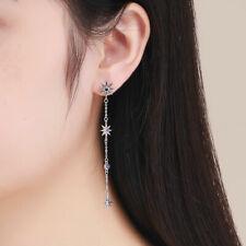 Europe Authentic 925 Sterling silver Women Stud Earring Shining mango&CZ Jewelry