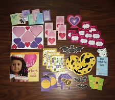 American Girl Doll Party Book Set & Lot - Halloween, Valentine's, & Party Ideas!