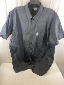 "Van Heusen Men's Fit Short Sleeve Dress Shirts Poplin Solid (Big and Tall), 20"""