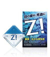 Rohto Z !  Eye Drops Ultimate Cooling Eyedrops 12 ml refresh Japan cool