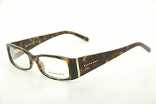 9aada25d7fbd New Authentic Burberry B 2019 3002 Havana Gold 49mm Eyeglasses RX with Case