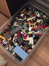 Genuine Lego 1kg-1000g Massive Job Lot Mixed Bundle Of Lego From The Box