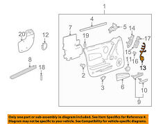 Pontiac GM OEM 2004 Grand Prix Front Door-Harness Left 10340079