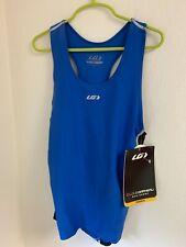 Louis Garneau Comp Tank Triathlon Top Men's Blue - Size S