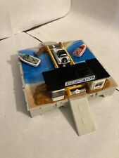 Vintage Micro Machines Travel City Toll Bridge Complete With 1 Car & 2 Boats