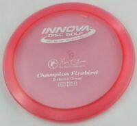 NEW Champion Firebird 175g Driver Pink Innova Disc Golf at Celestial Discs