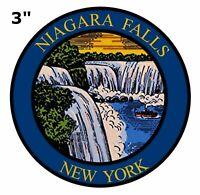 "Niagara Falls New York 3"" Truck Car Window Sticker Decal Vinyl Applique"