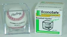 8 New Econo Ball Squares Baseball Ball Cube Holders