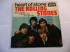"THE ROLLING STONES""HEART OF STONE-disco 45 giri DECCA Fr 1965""ONLY SLEEVE"