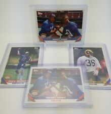 1993 Topps JEROME BETTIS DREW BLEDSOE MICHAEL STRAHAN x2 Draft Pick RC Lot of 3