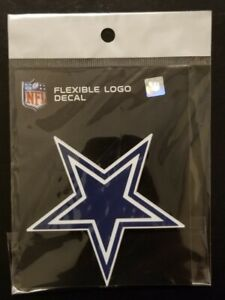 Officially Licensed In Sealed Dallas Cowboys Flexible Logo Decal