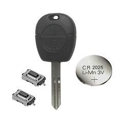fits Nissan MICRA ALMERA PRIMERA X-TRAIL Remote Key Fob Repair Refurbishment Kit