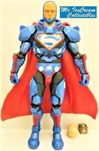 DC Comics Multiverse Lex Luthor BAF 100% Complete