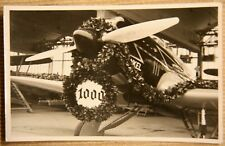 Foto Flugzeug 1938 Heinkel HE70 rar 1000tes Schnellverkehrsflugzeug X9