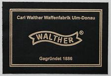 WALTHER PRESENTATION CASE BOX LABEL colt1911 luger p08 p38 pp ppk ww1 ww2 mauser