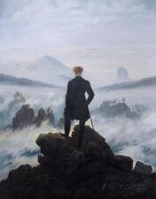 Wanderer Above the Sea of Fog Poster By Caspar David Friedrich - 24x36
