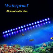 NEW  PopularGrow All Blue 54w/LED Aquarium Light Bar Fish Tank Plant Coral