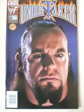 Undertaker Comic Issue 9. Photo Cover. Scarce. Chaos Comics. Dec. 1999