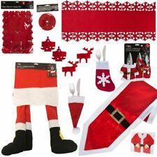 TISCHBAND 18,5 cm Filz RENTIERE Weihnachten Tischläufer Deko 4 Farben 3 Längen