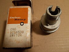 57 58 Pontiac Bonneville Star Chief Catalina NOS GM Delco-Remy Ignition Switch