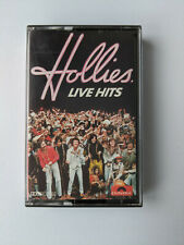 Hollies - Live Hits - Cassette Tape album - 1976 Polydor.