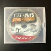 Tony Hawk Underground Greatest Hits (Sony PlayStation PS2 2003) Disc Only Tested