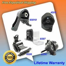 For 02-06 Honda CR-V 2.4L Engine Motor & Trans Mount 4504 4506 65010 6596 6597