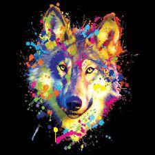 Wolf  Neon Black Light     Hoodie   Sizes/Colors