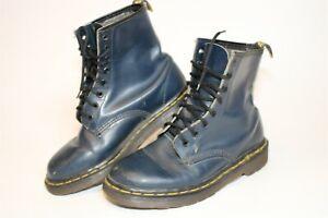 Dr. Martens Women Size US 7 UK 5 Leather Vintage England Made Combat Ankle Boots