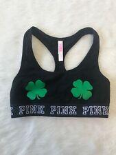 Pink Victoria's Secret Shamrock Banded Bralette Size XS