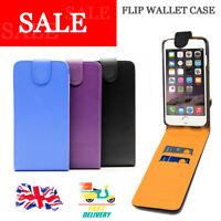 Premium Executive Wallet Flip Case Card Holders Vertical for iPhone 5s 5 SE
