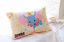 Cute Dumbo Elephant Printing Pillowcase Soft Fabric 60*40cm