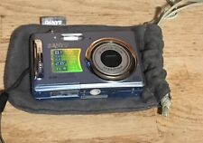 Sanyo VPC T850 8.1 MP Digital Camera - Blue With battery